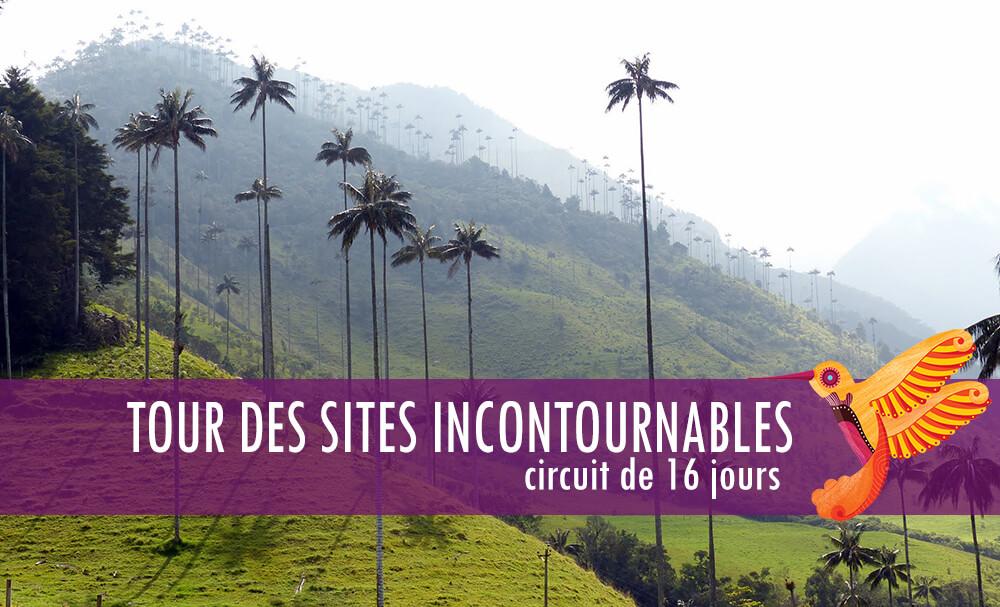 Circuit Incontournables - Colombia Infinita, agence de voyage en Colombie