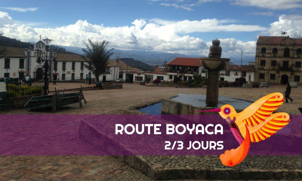 Route Boyaca