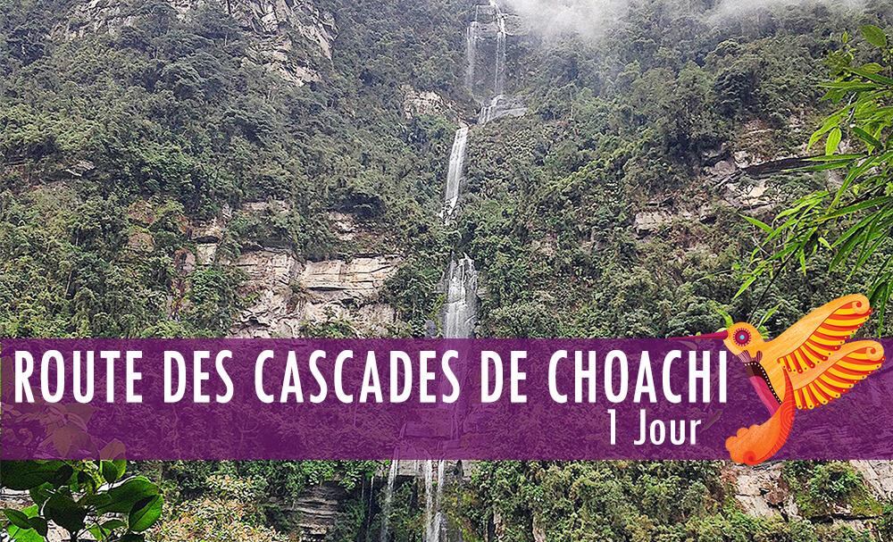 Route des Cascades de Choachi