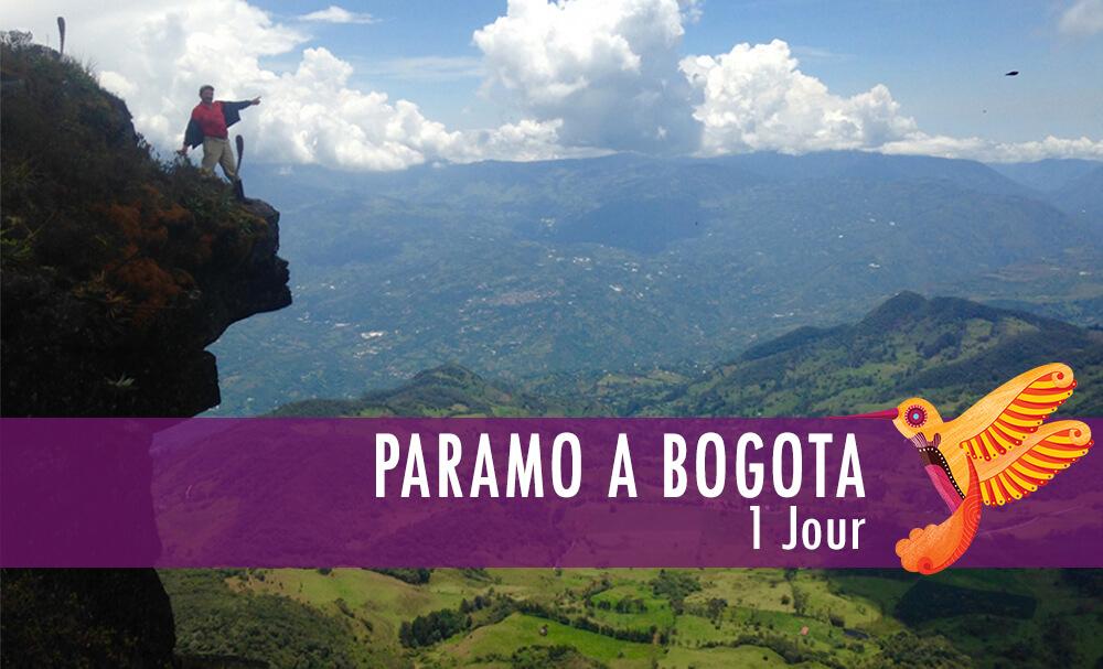 Vignette - Paramo a Bogota