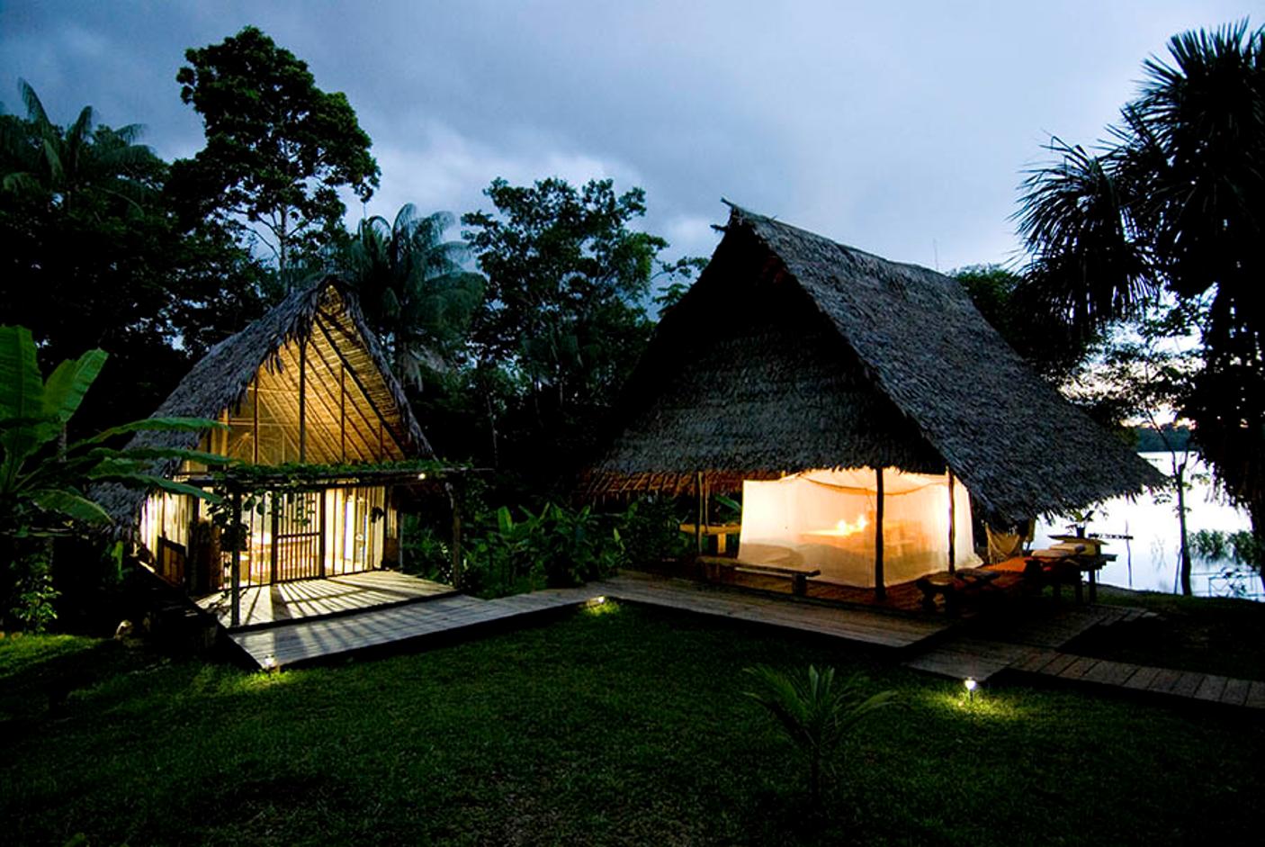 Amazonie Eco lodge