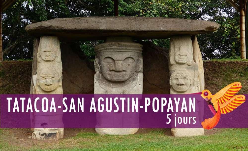 Vignette - Tatacoa, San Augustin & Popayan